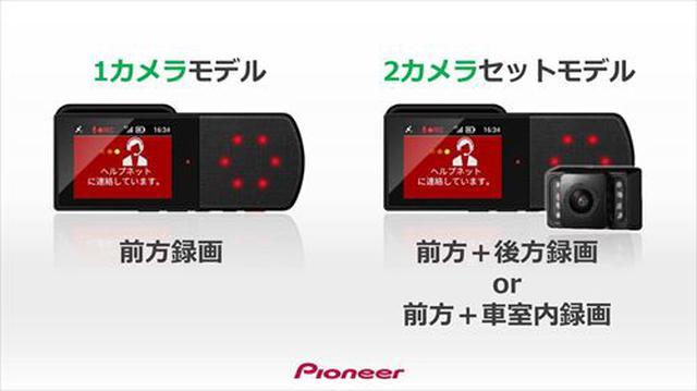 画像: ラインナップは1カメラ型の「TMX-DM04-CS」と、2カメラ型の「TMX-DM04-CS-FRC」の2種類