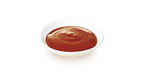 画像: 爽やかな酸味と後味が残る「本格レッドジャンソース」。本格焼肉気分が味わえる、ピリ辛のソース。