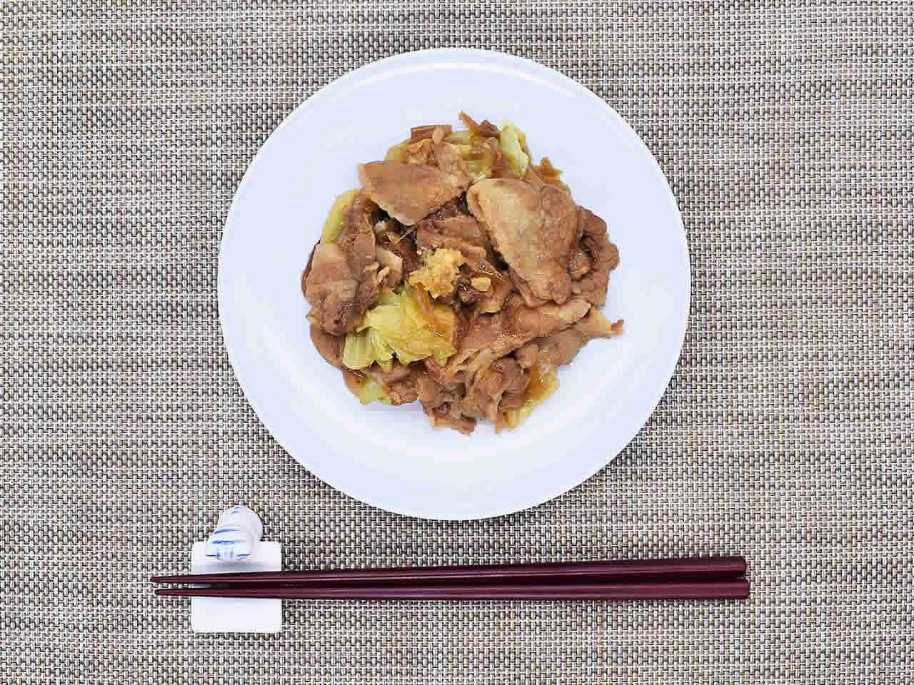 画像: 生姜の刺激が絶妙な「生姜香る 豚バラ肉の生姜焼」