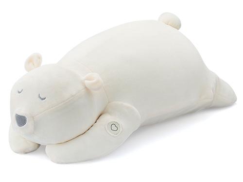 画像: 目を閉じて抱きしめるだけで呼吸のリズムが整い、自然な安眠を促すグッズ