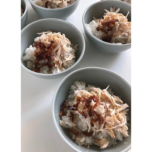 画像: 台湾の鶏肉飯風(外処さん提供)