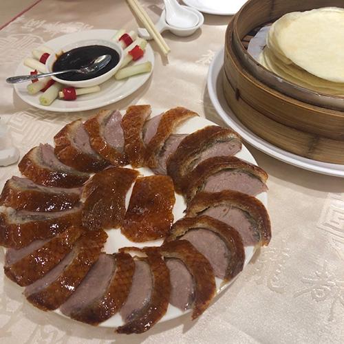 画像: 北京ダック(外処さん提供)