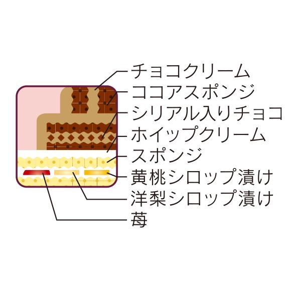 画像: チョコクリームとホイップクリームの2種類のケーキが合体! www2.chateraise.co.jp