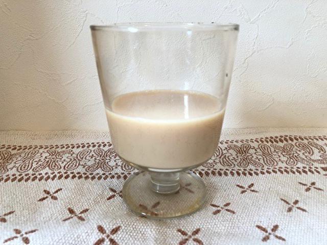 画像: ミルクティー+養命酒