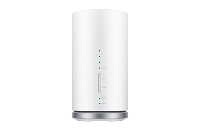 画像: Try WiMAXのルーター「Speed Wi-Fi HOME L01/L01s」 www.uqwimax.jp