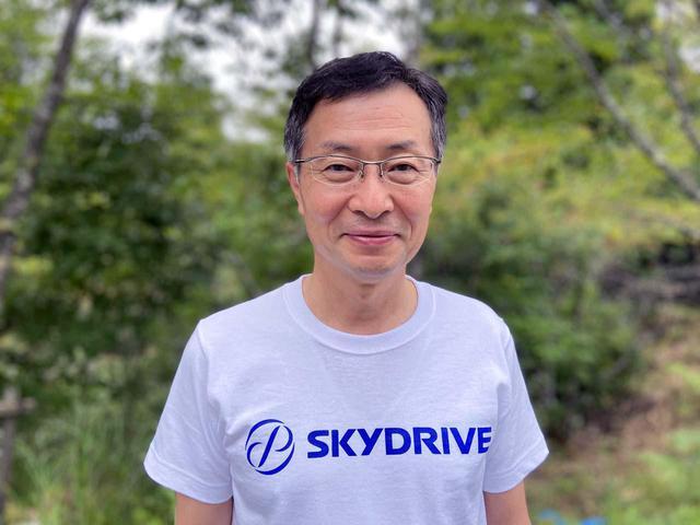 画像: インタビューに答えていただいたSkyDriveの最高技術責任者・岸 信夫氏