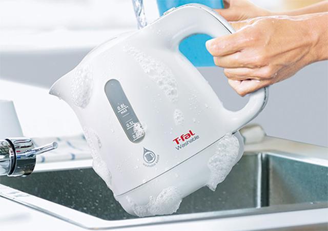 画像: 食器用洗剤でじゃぶじゃぶ洗える www.t-fal.co.jp