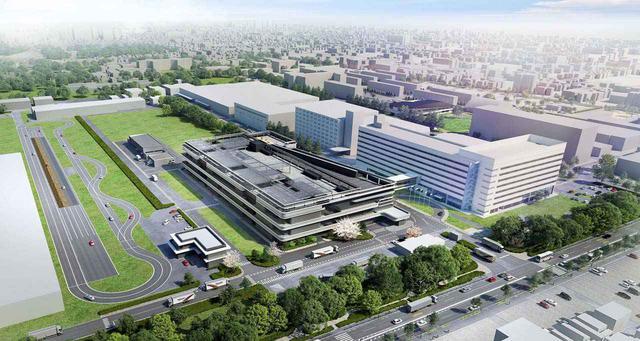画像: ブリヂストンが東京・小平市に計画中の「Bridgestone Innovation Park」の全体図