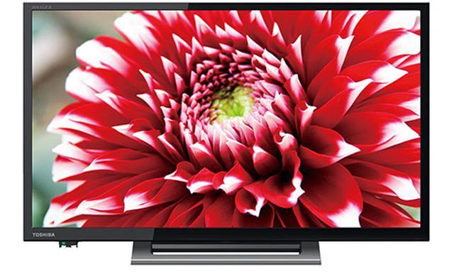 画像: ネット動画の視聴を最優先に開発されたプライベートスマート、V34シリーズの24V型モデル。32V型、40V型もある。