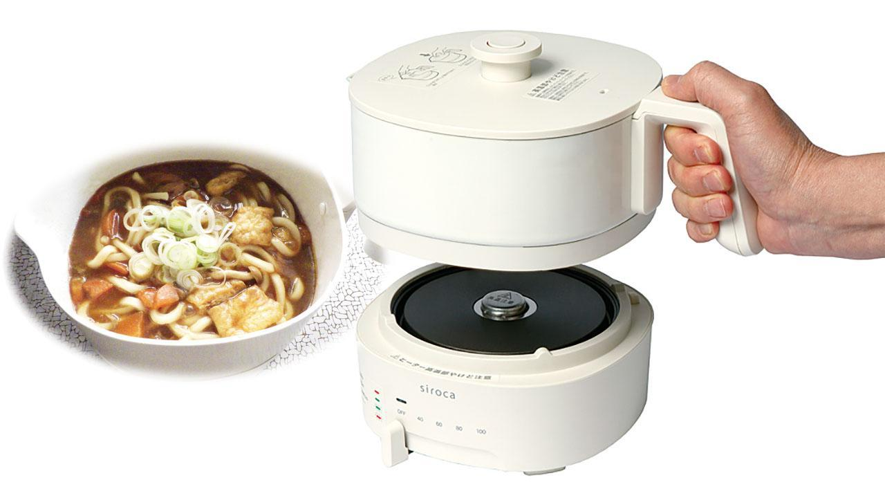 画像: 【シロカ ちょいなべ】白バージョン「SK-M152」をテストレビュー 料理のハードルを革命的に下げるアイデア家電 - 特選街web