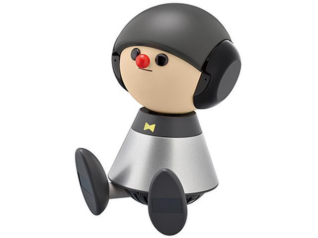 画像: 言葉をメロディに乗せたコミュニケーションができるロボット。性格があり、人を検知して自発的に話しかけたり、独り言をつぶやいたりする機能も。