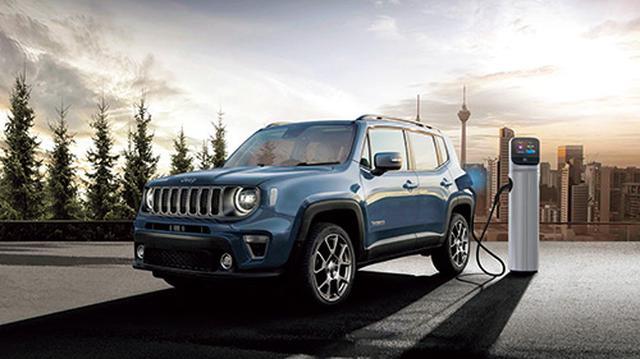 画像: Jeep Renegade 4xe