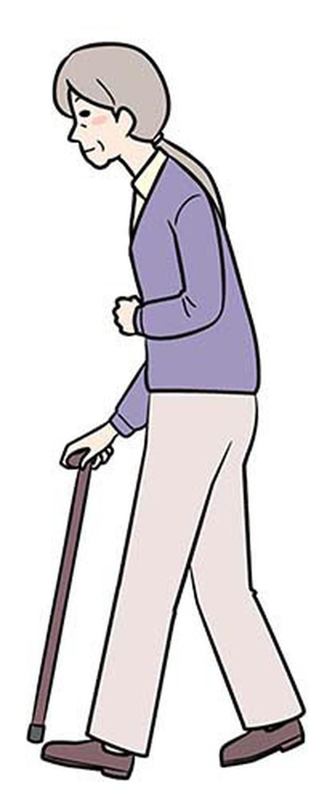 画像: ②マヒのある側の足を出す