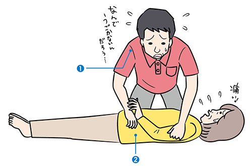 画像: 寝返り介助の勘違い 寝ている人を力任せに 横向きにしていませんか?