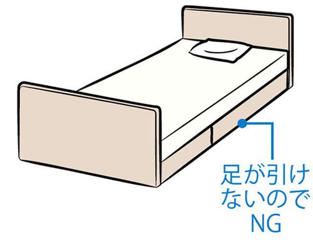 画像2: ベッド