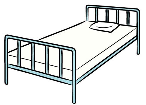 画像1: ベッド