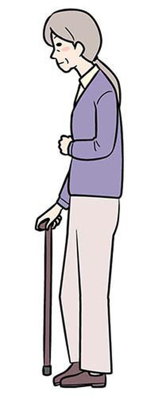 画像: ③マヒのない側の足を出す