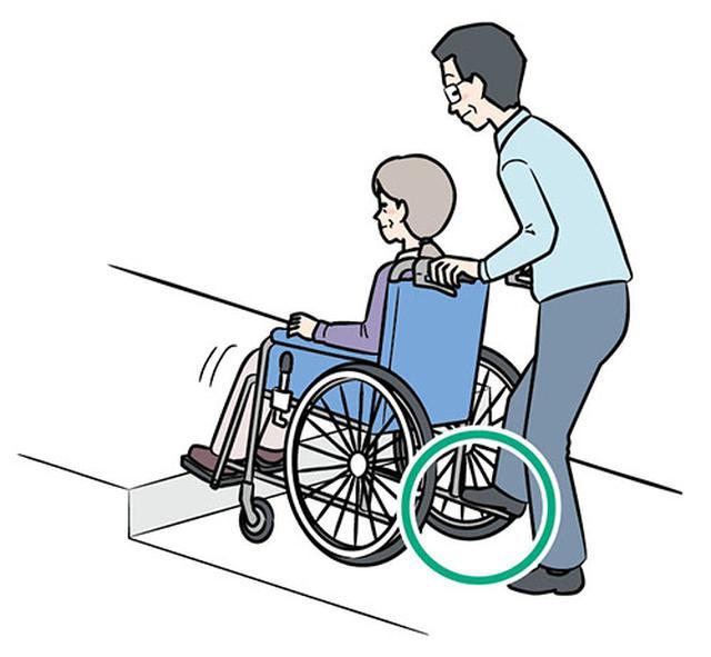 画像: ③ブレーキをかけて前輪を着地させる