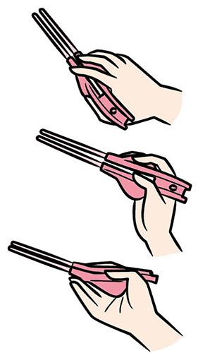 画像2: ▼箸ぞうくん(下図は右手用)