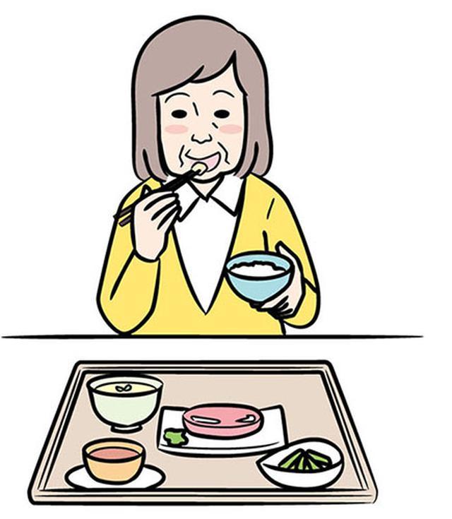 画像: 流動食にする前に「ソフト食」