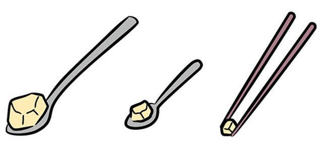 画像: 食事介助では、 スプーンを使うか? 箸を使うか?