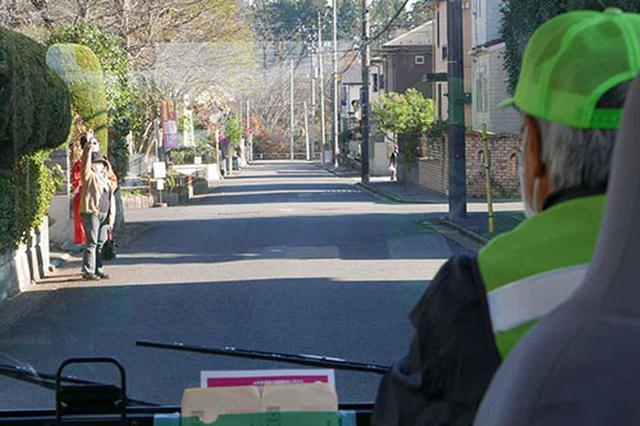 画像: 停留所は住宅街に細かく設定し、利便性を高めることを重視した