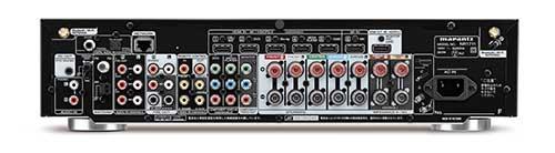 画像: 背面のHDMI入出力端子は6入力/1出力と、充実の内容。スピーカー端子は、7チャンネルのすべてがバナナプラグ対応となっている。