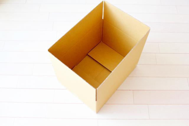 画像: 梱包資材は自前