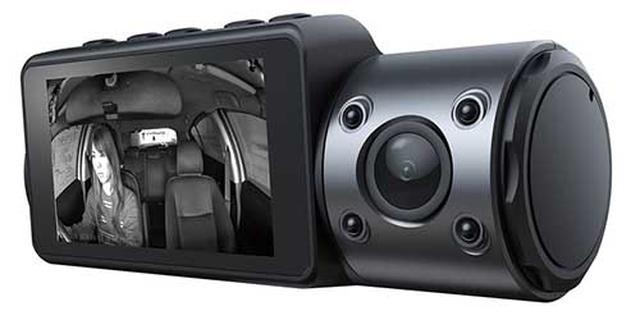 画像: 暗い所では自動で赤外線撮影に切り替わってくれる。