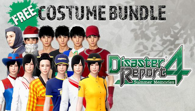 画像: Disaster Report 4: Summer Memories - Free Costume Set on Steam