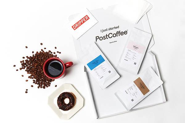 画像: 細かなカスタマイズができるサブスク。質問に答えると、AIが診断した好みのコーヒーが毎月3種類(豆または粉)届く。折り畳みドリッパーで気軽に楽しむことも可能。