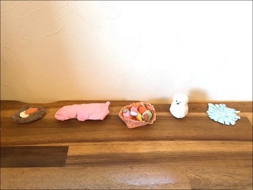 画像: 子どもが作った個性ある作品たち
