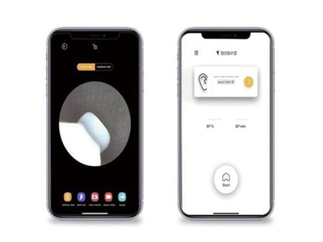 画像: 本体のカバーを開くだけで自動的にスマホとペアリング。バッテリー残量をアプリで確認することもできる。