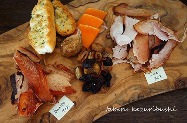 画像: 「かつお」と「まぐろ」の食べ比べもおもしろい。 shop-ikedaya.com