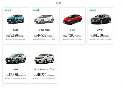 画像: kinto-jp.com