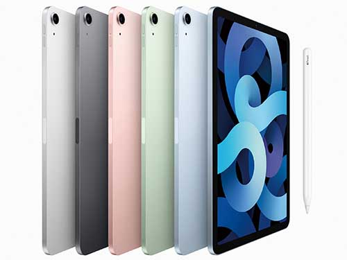 画像: 2020年10月に発売されたハイスペックモデル。処理能力はiPhone 12シリーズとほぼ同等で、トップキーとTouch IDを統合。形状がiPad Proに近くなり、別売のMagic Keybordを装着できるようになった。