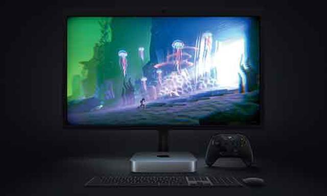画像: HDMI2.0端子を備え、最大4K解像度の映像出力に対応。USB4端子経由でデュアルディスプレイ接続も可能。