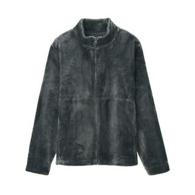 画像: 【無印良品】着る毛布ジャケット購入レビュー!起毛素材「あたたかファイバー」の優しい手触りが最高すぎる