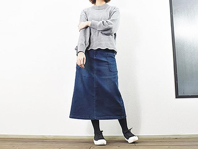 画像: 身長160cm、体重46kgの女性が着用