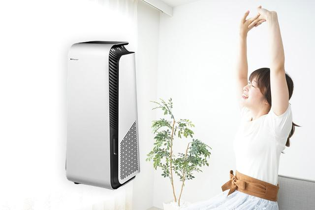 画像1: 【換気扇の効果】つける・つけないで室内空気の汚れはどのくらい違う?空気清浄機「Blueair Protect」のセンサーで比較してみた