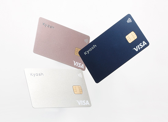 画像: バーチャルなプリペイドカードも使える「Kyash」が便利!