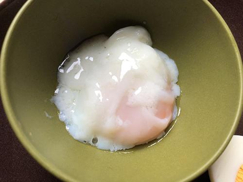 画像: 約30分で理想的な温泉卵に