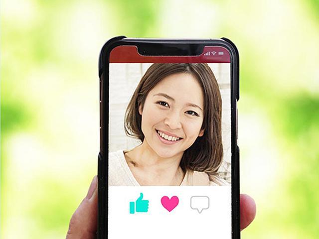 画像: 好みの人と会いやすいのが特徴のマッチングアプリ(写真AC)