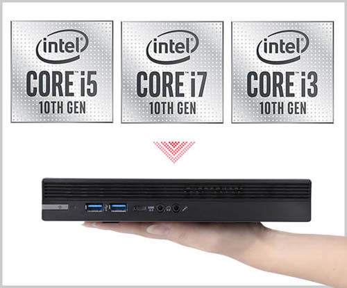画像: ミニPCでは、一般的なノートパソコンより高性能なデスクトップ向けCPUを搭載している機種もある。 www.pc-koubou.jp