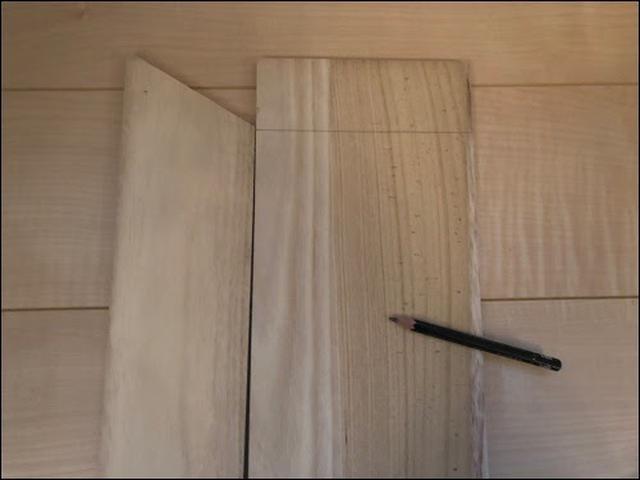 画像: 残りの木板もカットしていく