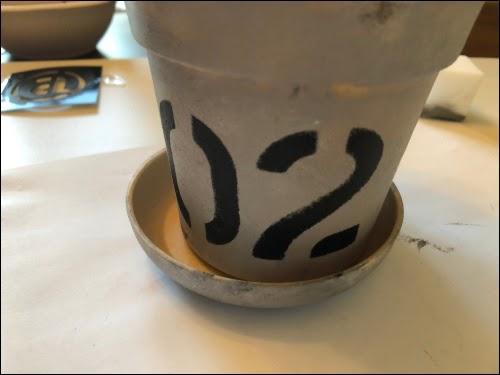 画像: スタイリッシュな植木鉢が完成