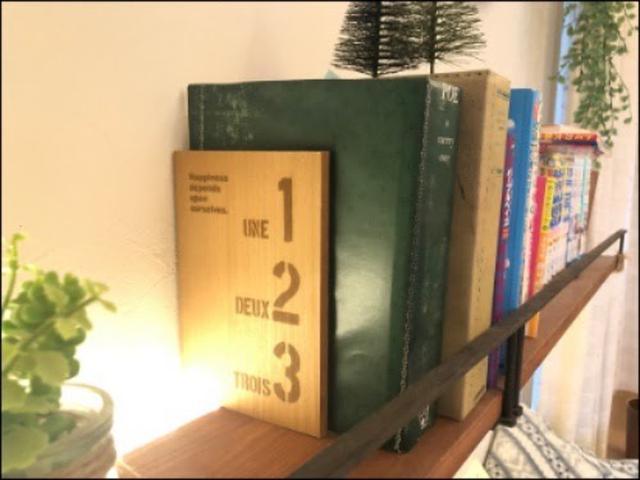 画像: やっぱり本を支えるのに便利