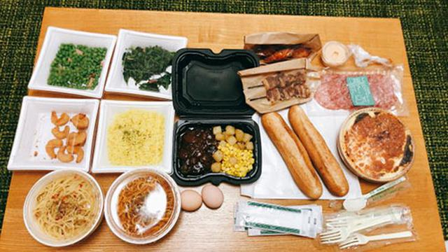 画像: ドリアやハンバーグ、パスタ、肉料理などいろいろ注文しました