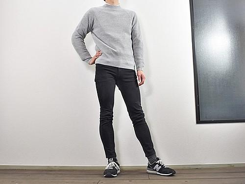 画像: 身長170cm、体重67kgの男性が着用