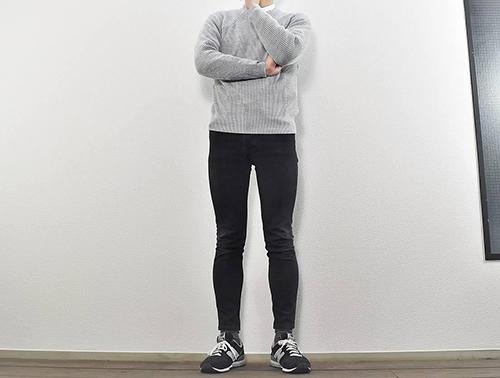 画像: コーデもお手入れも簡単な「ウォッシャブルミドルゲージクルーネックセーター(長袖)」